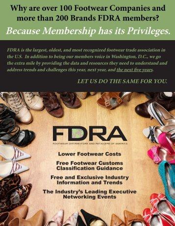 Because Membership has its Privileges. - Footwear Distributors and ...