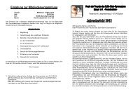 Jahresbericht 2012 - Edith Stein Gymnasium
