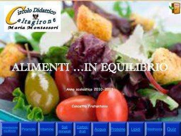 Alimenti in ... equilibrio.pdf - 2 Circolo Didattico di Caltagirone