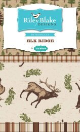 Elk Ridge - Riley Blake Designs