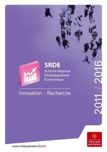 Innovation - Recherche - Région Midi-Pyrénées