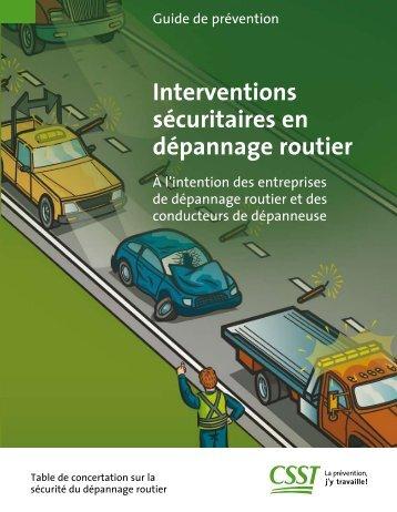 Interventions sécuritaires en dépannage routier - Auto Prévention