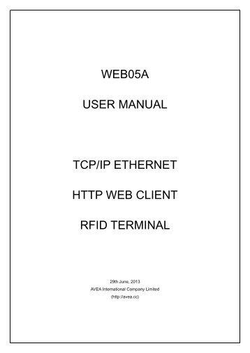 user manual - AVEA International Company Limited