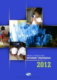 Profil Internet Indonesia 2012 (INDONESIA)