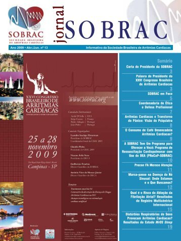 Jornal SOBRAC - Departamentos Científicos - Sociedade Brasileira ...