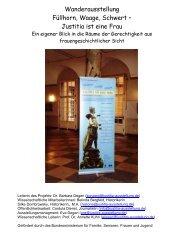 Portfolio der Ausstellung Justitia ist eine Frau - justitia-ausstellung