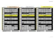 planning 2007/2008 pe 1 c planning 2007/2008 pe 1 d ... - IUFM