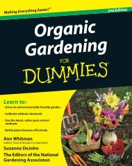 Organic Gardening for Dummies - The Foodshed Project