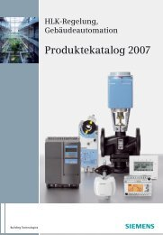 Produktekatalog 2007 - MESCADO - Regeltechnik GmbH