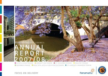 Annual Report 07-08 full - Parramatta City Council - NSW Government