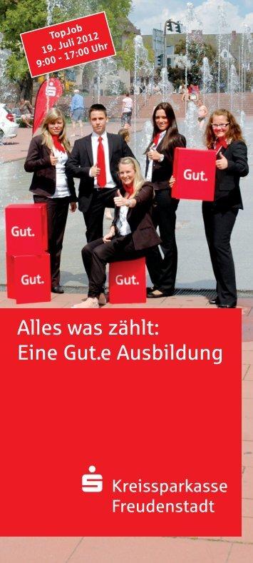 flyer 1_topjob.qxp - Kreissparkasse Freudenstadt