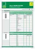 Neue MANN-FILTER für Baumaschinen 03/2006 - Mann & Hummel - Page 2
