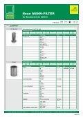 Neue MANN-FILTER für Baumaschinen 03/2006 - Mann & Hummel - Page 7