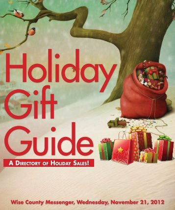Holiday Gift Guide 2012 - Wise County Messenger