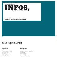 bUcHUNGSINFOS - anzeigenpreise.ch