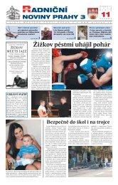 Radniční noviny - listopad 2008 - Praha 3