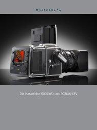 Die Hasselblad 503CWD und 503CW/CFV