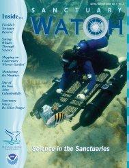 Sanctuary Watch Vol. 7 No. 2 - National Marine Sanctuaries - NOAA