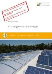 PT Energiefonds SolarInvest - Samuel Begasse