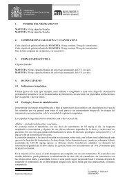 1. NOMBRE DEL MEDICAMENTO MAYESTA 10 mg ... - BAMA-GEVE