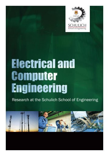 Research Booklet - The Schulich School of Engineering - University ...