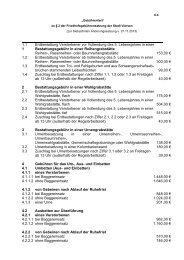 Gebührentarif zur Friedhofssatzung - Stadt Viersen
