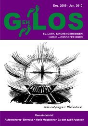 GehLos - Ausgabe Dezember 2009 - Januar 2010 - Lurob.de