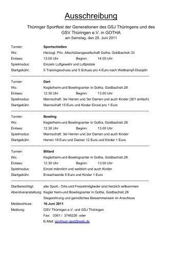 Anmeldungsbogen Vereinsname oder Freizeitteam: Dart