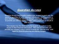Guardian Access Tutorial - www4