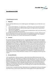 Geschaeftsbericht_ 2008 - Eine Welt Netz NRW