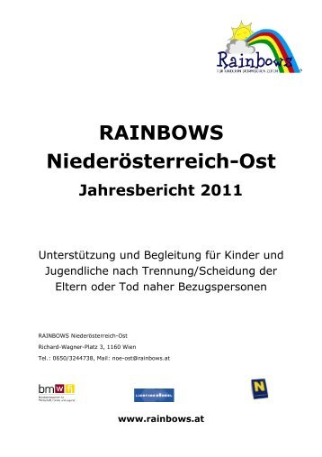 Jahresbericht 2011 Langversion_NÖ-Ost - Rainbows