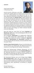 Dommusiken 2011 - Der Ratzeburger Dom - Seite 3