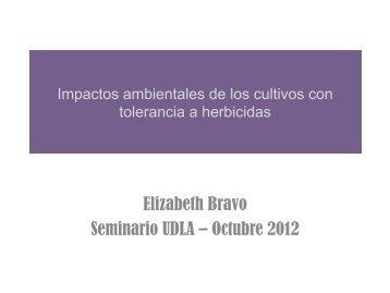 impactos ambientales de los cultivos con tolerancia a herbicidas ...