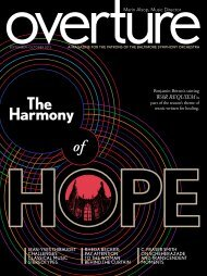 View the September-October 2013 issue of Overture (PDF)