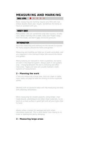 Measuring And Marking.pdf - Modern Prepper