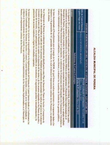 informe pormenorizado del sistema de control interno-ley 1474 ...