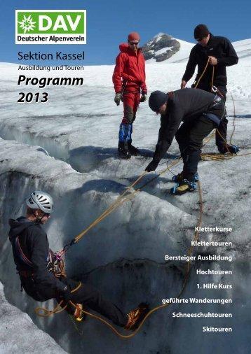 Programm 2013 Programm 2013 - Kassel