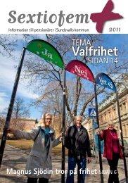 Läs 2011 års tidning (pdf) - Sundsvall