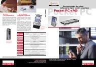 Pocket PC e740 - Toshiba