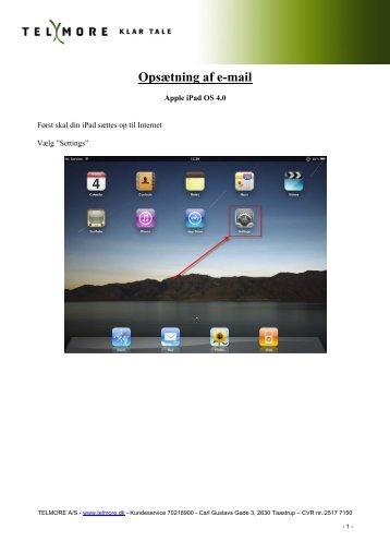 Opsætning af e-mail - Telmore