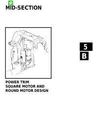 New Tilt Trim Motor For Mercury Maine 1992-1995 Square Motor Design II 3-Ram