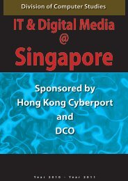 Sponsored by Hong Kong Cyberport and DCO - Division of Applied ...