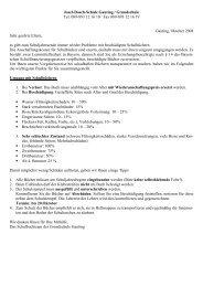 Josef-Dosch-Schule Gauting / Grundschule Tel. 089-893 12 16 10 ...