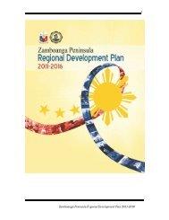Zamboanga Peninsula Regional Development Plan 2011-2016