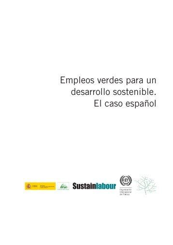 Empleos verdes para un desarrollo sostenible. El caso - CCOO