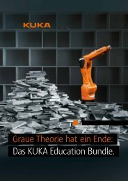 Das KUKA Education Bundle. - KUKA Robotics
