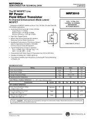 RF Power Field-Effect Transistor MRF151G - CB Tricks