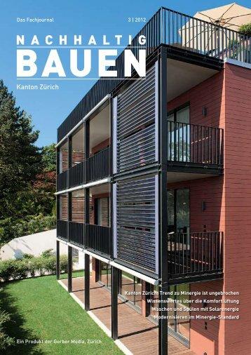 Nachhaltig Bauen Kanton Zürich 3/2012 - Gerber Media