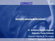 Presentación del CONACYT, Consejo Nacional de ... - Madri+d