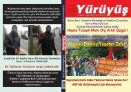 HASTA TUTSAK METE DİŞ ARTIK ÖZGÜR! - Yürüyüş